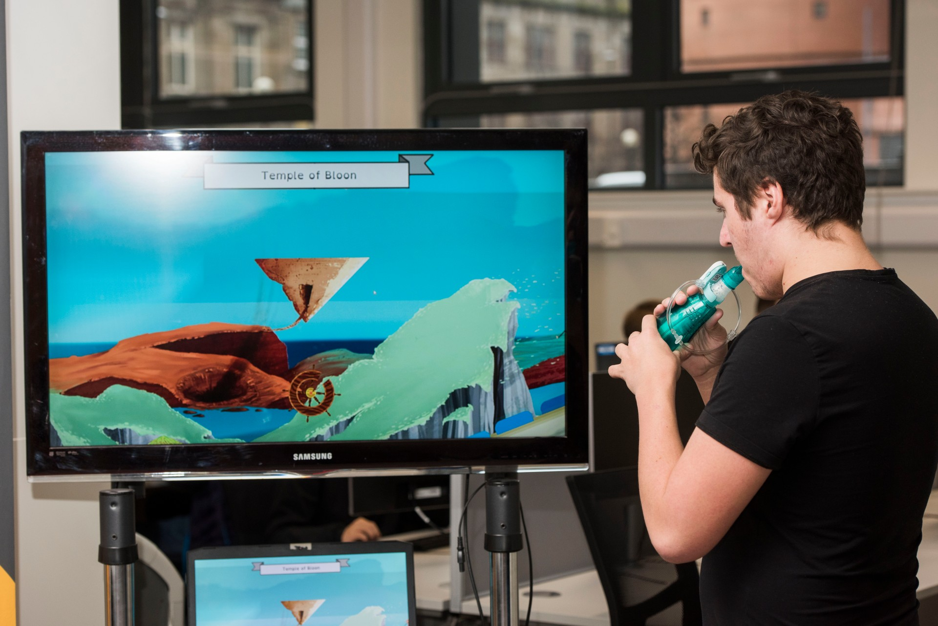 Ground-breaking videogame for cystic fibrosis patients tested at Great Ormond Street Hospital